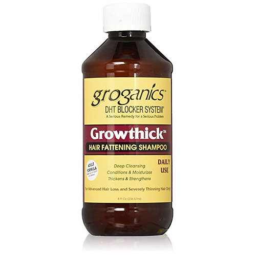 Groganics - DHT Blocker System - Growthick Hair Fattening Shampoo