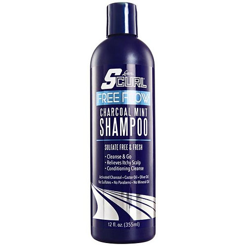 Scurl - Free Flow - Charcoal Mint Shampoo