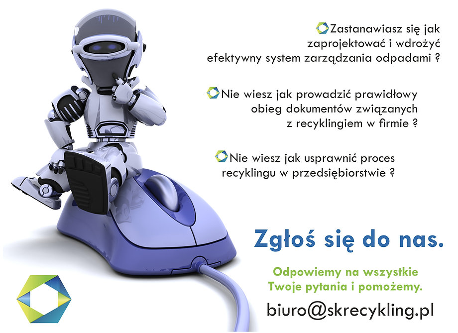 robot recyklingowy