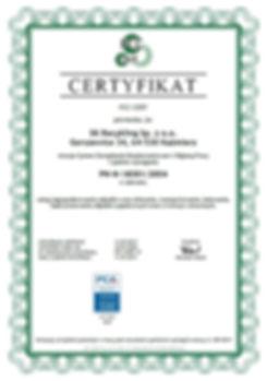 Certyfikat PN-N 18001:2004