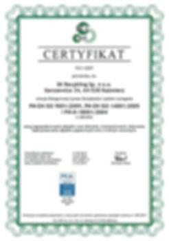 Certyfikat Zintergowanego Systemu Zarządzania