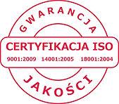 certyfikaty ISO