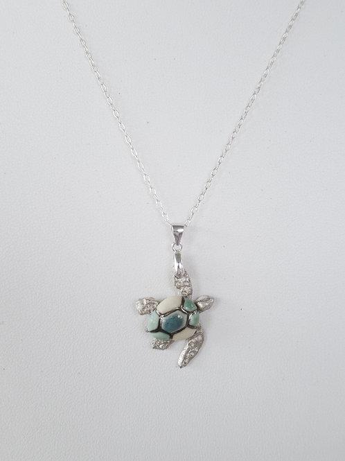 Multi-tone Blue Sea Turtle