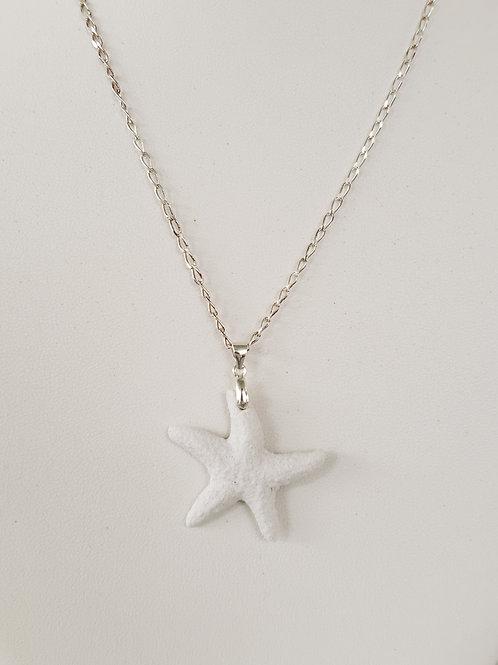 Coral Starfish Pendant