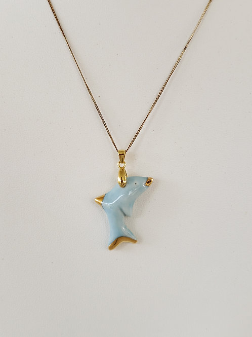 Baby Blue Dolphin