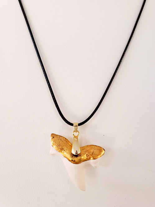 Shark Tooth 22K Infused Gold