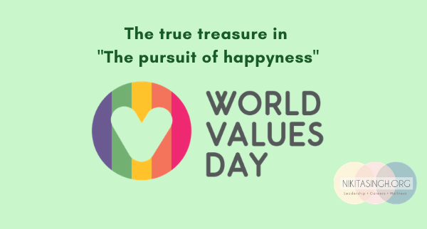 """The true treasure in """"The pursuit of Happyness"""" - VALUES!"""