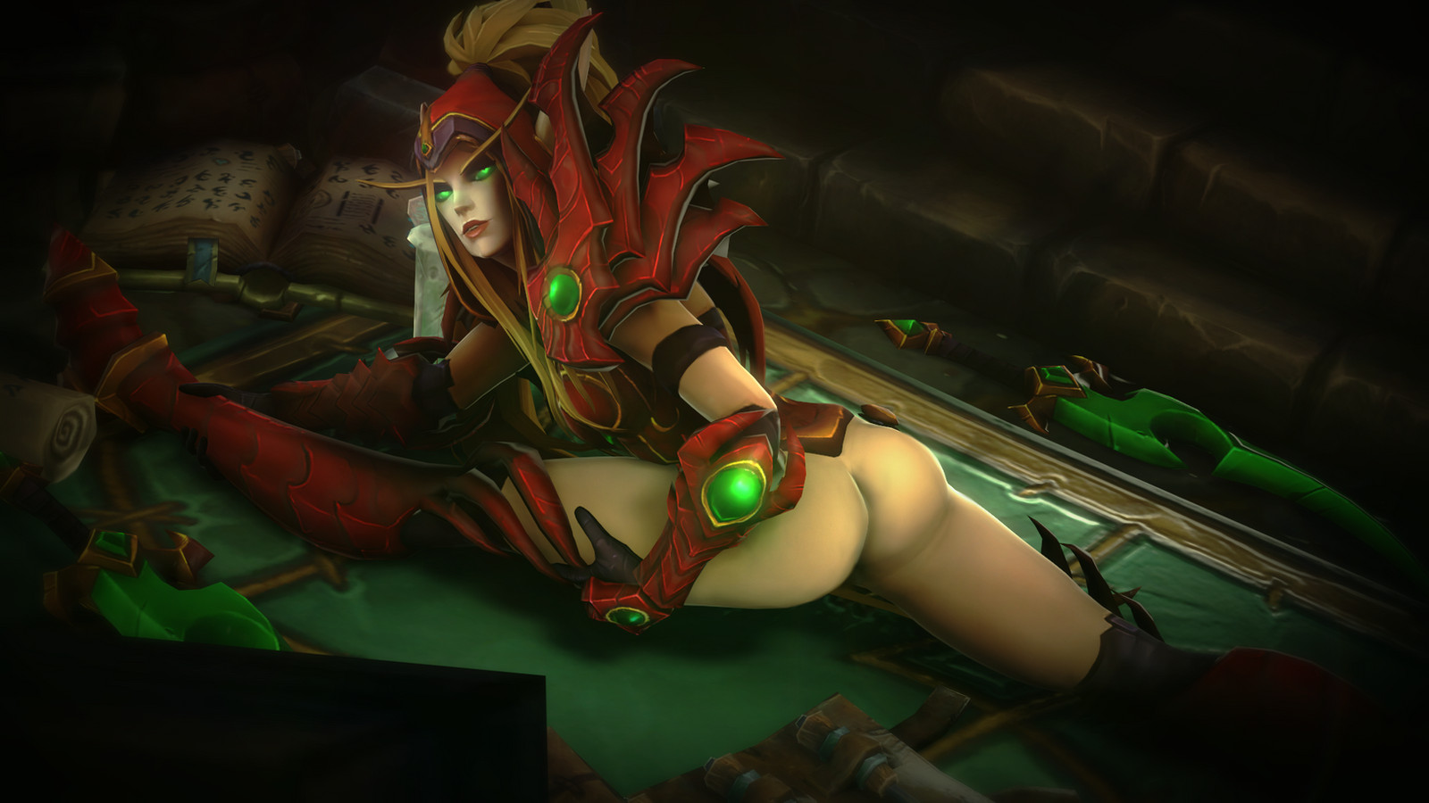 World of warcraft hentai valeera sanguinar