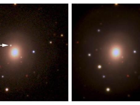 Se detectó estroncio a partir de la fusión de dos estrellas de neutrones.