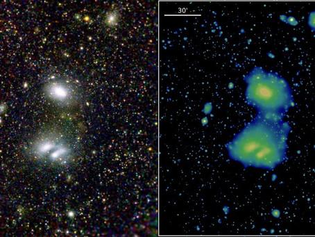 El telescopio espacial de rayos X eROSITA nos envía las primeras imágenes.