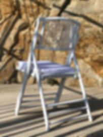 The wedding bamboo chair is a must for a romantic and modern ceremony in Mykonos