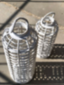 Complete your wedding decoration with bamboo lanterns.