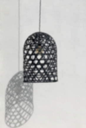 When used as wedding decor, the black bamboo lampshades look absolutely majestic and literally make us swoon