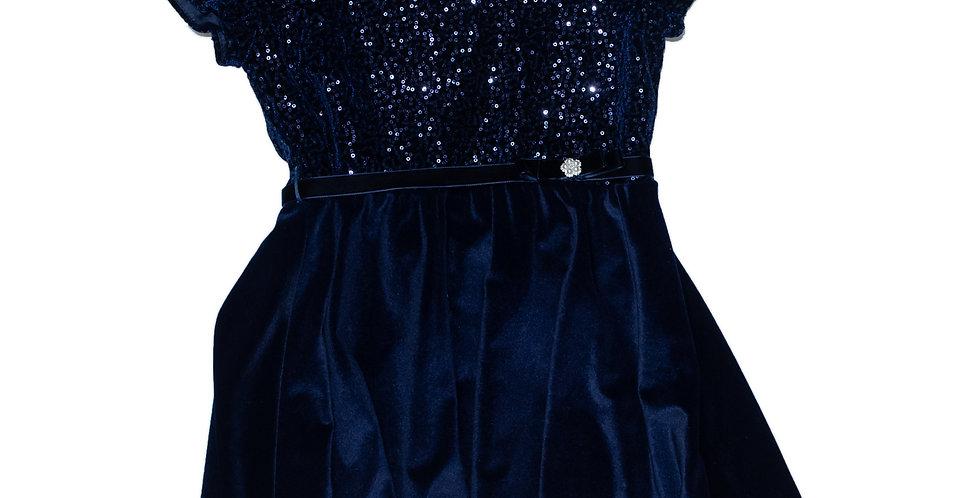 blue velvety