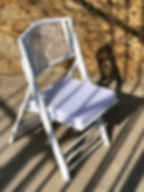 For a stylish ceremony seating, the white wedding folding chair is the perfect choise.