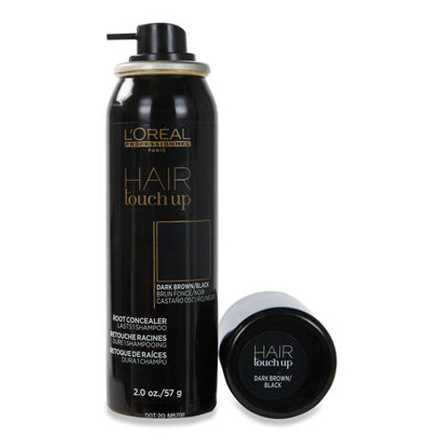 L'Oreal Professional Hair Touch Up Root Concealer 2oz - Dark Brown/Black