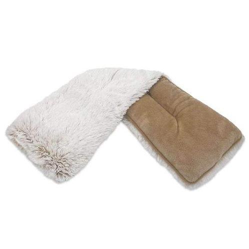 Warmies - Marshmallow Brown Neck Wrap
