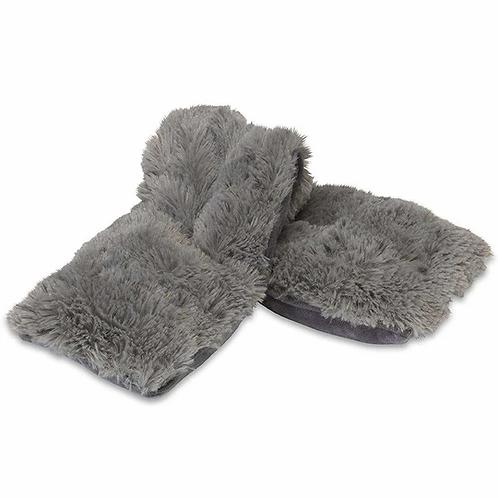 Warmies - Fuzzy Gray Neck Wrap