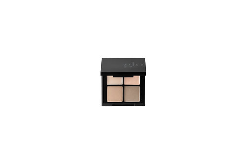 glo Mineral Makeup Brow Quad - Taupe