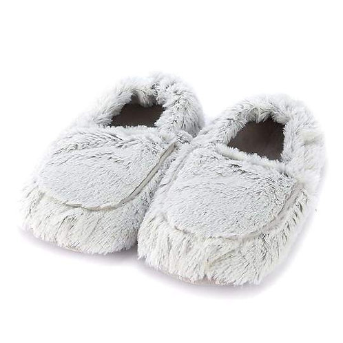 Warmies -  Marshmallow Gray Slippers