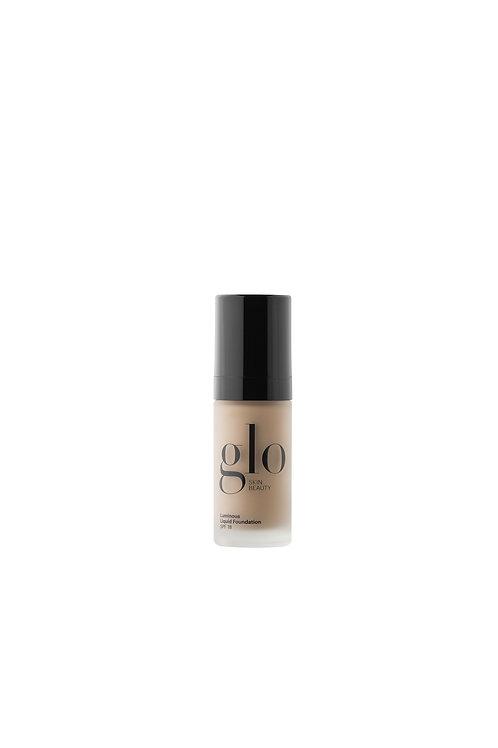glo Mineral Makeup Luminous Liquid Foundation - Tahini