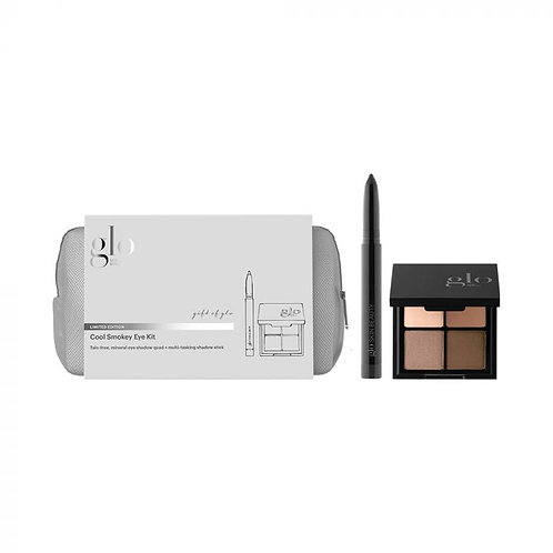 glo Mineral Makeup Cool Smokey Eye Kit