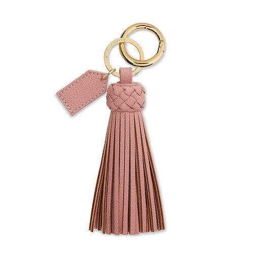 Katie Loxton Cara Tassel Keyring - Pink