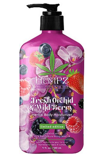 Hempz Moisturizer -  Fresh Orchid & Wild Berry 17oz