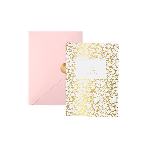 Katie Loxton Greeting Card - One In A Million