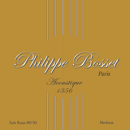 Phillipe Bosset Acoustic Archtop Strings 13-56