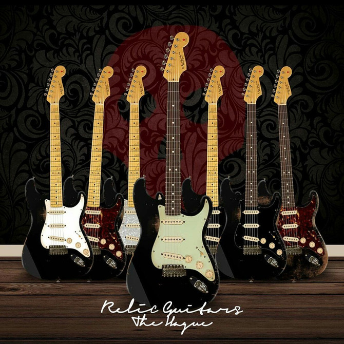 Relic guitars the hague  knows thier Strats