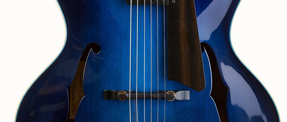 Octigan Midnight Blue Archtop