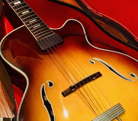 Vintage archtop 50s