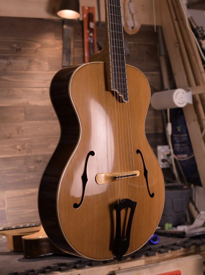 Guillaume Rancourt Madagascar Archtop