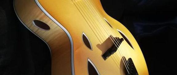 "Erman Guitars 16"" Acoustic Archtop"