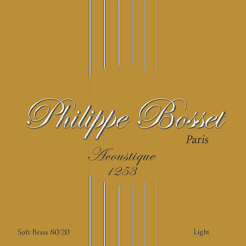 Phillipe Bosset Acoustic Archtop Strings 12-53