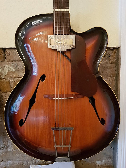 Rogers Archtop 40s build