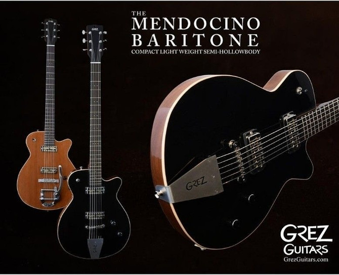 Mendocino Baritone just released