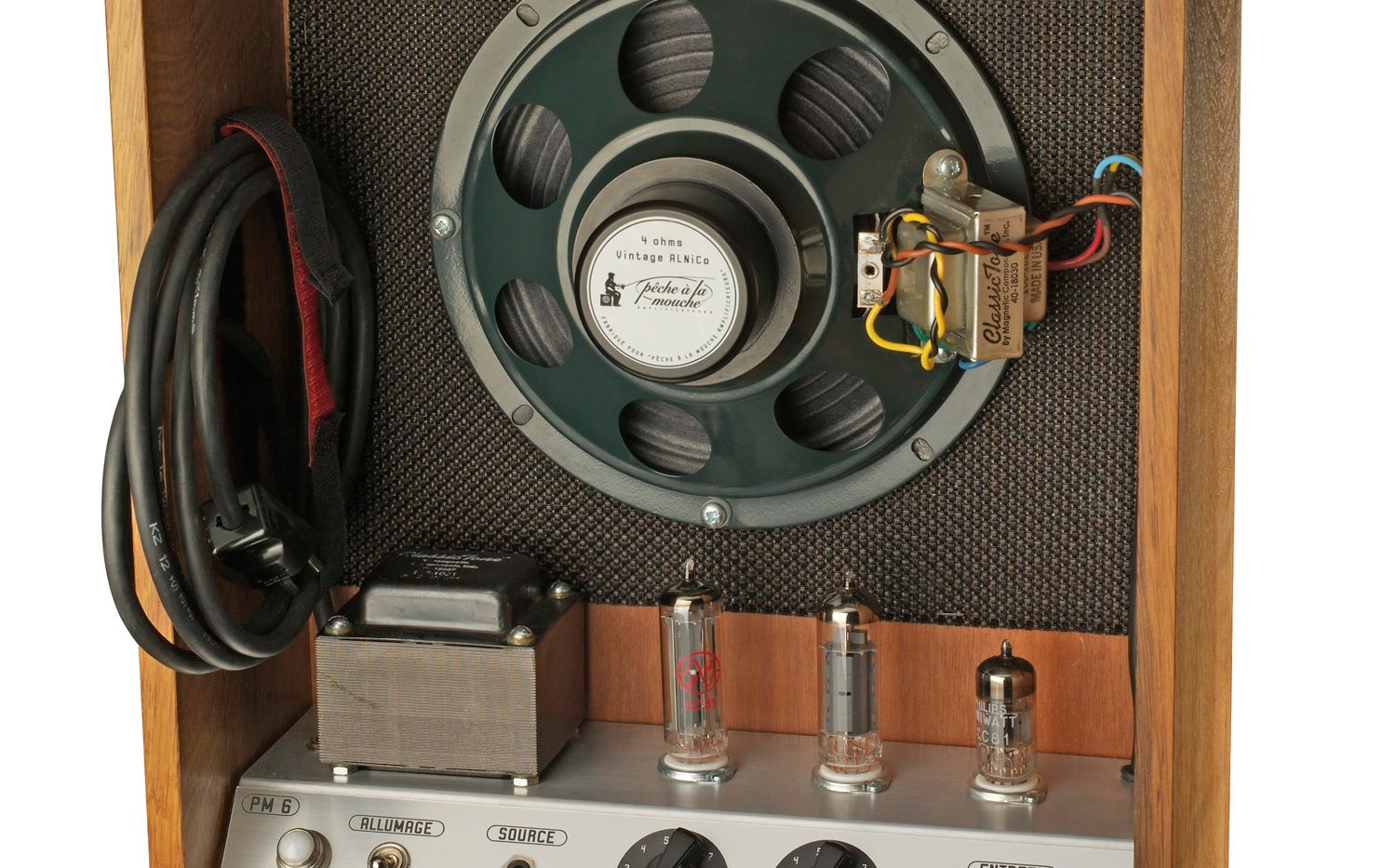 Tube amp and speaker