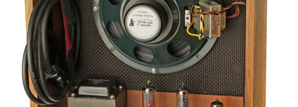Tube amp and speaker