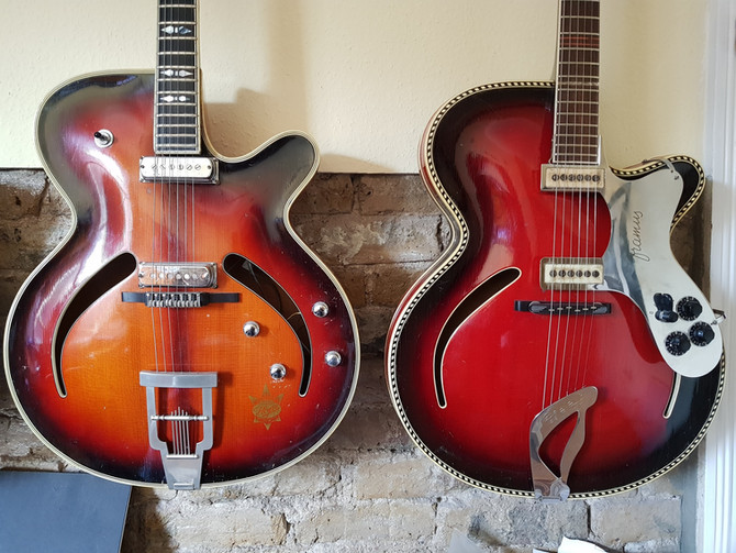 A potted history of the German Archtop by a friend and collector Thomas Kampe.