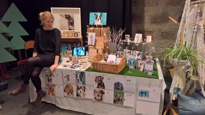Paperhounds @ Flock, Woodend barn                       Contemporary Art Fair