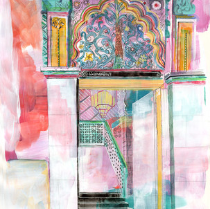 'purple Mosque'