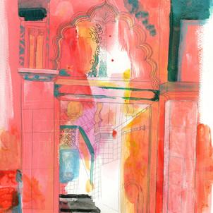 'pink mosque'