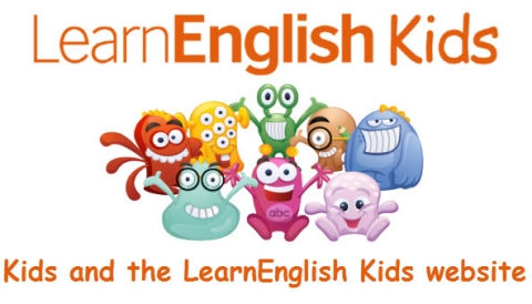 Kids and the LearnEnglish Kids website.j