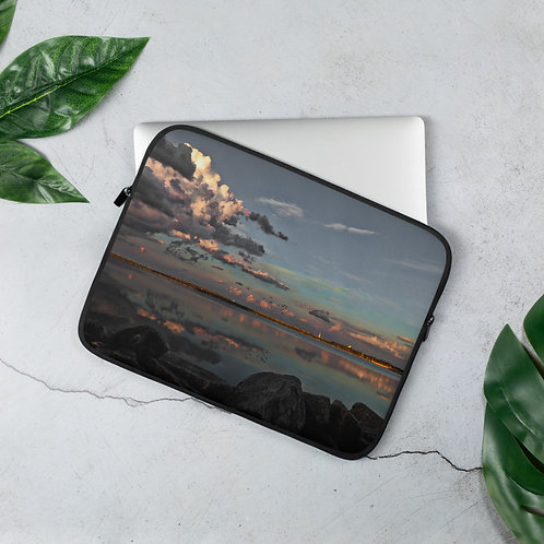 Laptop Lake Michigan Chicago View Sleeve