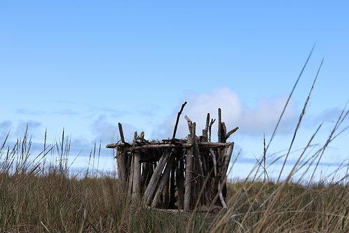 Beach Hut Closeview