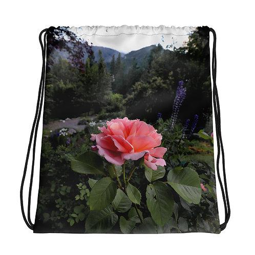 Drawstring Rose bag