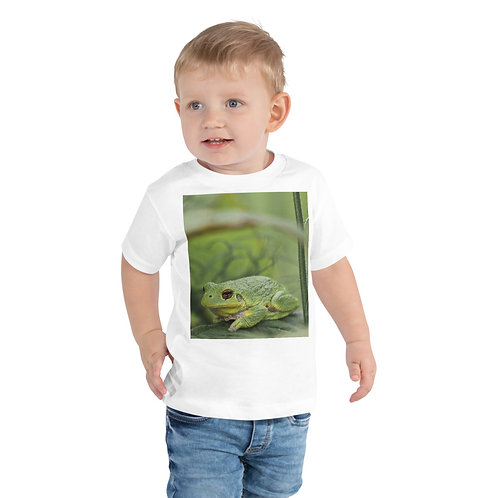 Toddler Camo Frog Short Sleeve Tee