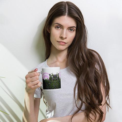 Lilac Circles Mug